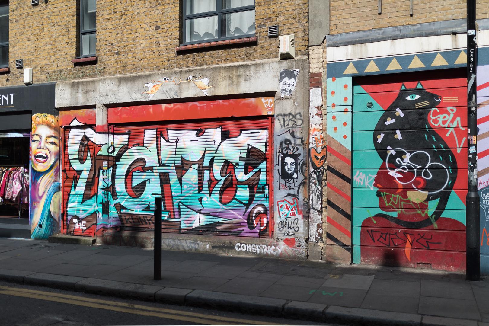 Brick Lane Graffiti / London